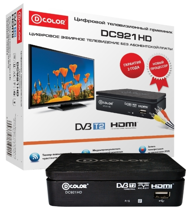 D COLOR DC921HD