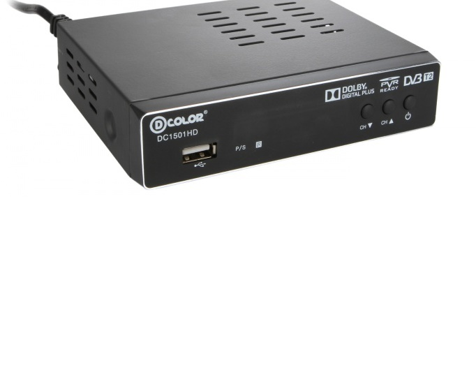 D COLOR DVB T2 DC1501HD